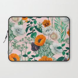Wildflowers #pattern #illustration Laptop Sleeve