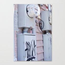 Meters Canvas Print