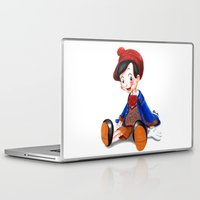 gucci Laptop & iPad Skins featuring Pinocchio x Gucci by Olivia Au