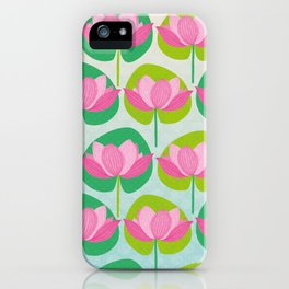 Indian Lotus iPhone Case
