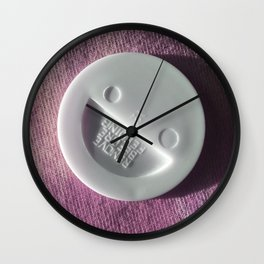 Baby Smile Pink Wall Clock