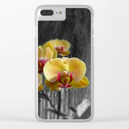 High Society Clear iPhone Case