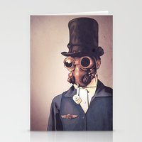 steampunk Stationery Cards featuring Steampunk by FalcaoLucas