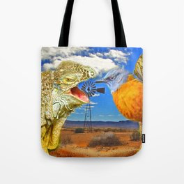 Tourists in Namaqualand Tote Bag