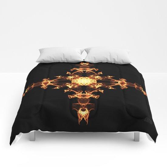 Fire Cross Comforters