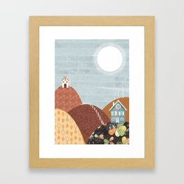 Hillside Framed Art Print