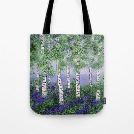 Summer Aspens Tote Bag