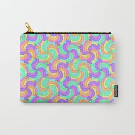 Fun Kaleidoscope Swirls Carry-All Pouch