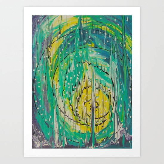 Free abstract Art Print