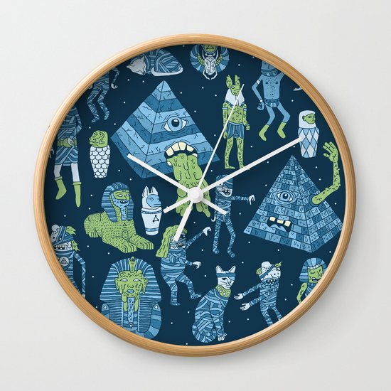 Wow! Mummies! Wall Clock