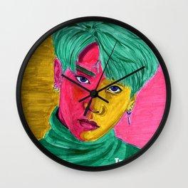 You Make My Life Colorful Wall Clock