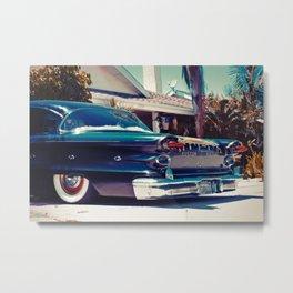 Kustom Pontiac Metal Print