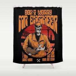 Mr Engineer Shower Curtain