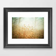 The Magic of Fog Framed Art Print