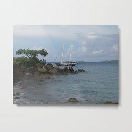 Cruz Bay, St. John USVI  Metal Print