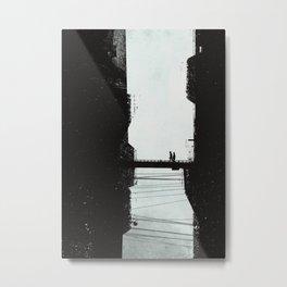 Highrise Metal Print