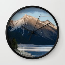 Scenic Mountain Photography Print Wall Clock