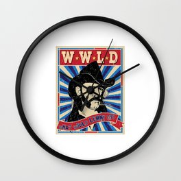WWLD What Whould Lemmy Do? Wall Clock