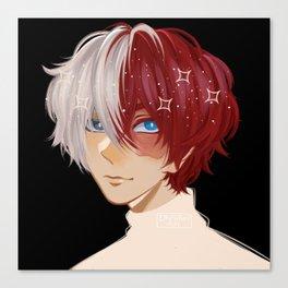 Todoroki Shouto [Boku no Hero Academia] My Hero Academia Canvas Print
