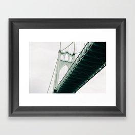 closing the gaps Framed Art Print