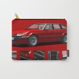 Rover Vitesse 1986 Targa Red Carry-All Pouch