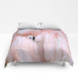 Flamingo #2 Comforters