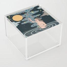 Full Moon blessings Acrylic Box