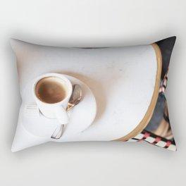 Paris Coffee Rectangular Pillow