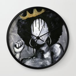 Naturally Queen Wall Clock