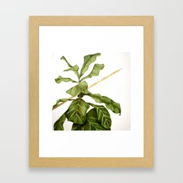 And & And Framed Art Print