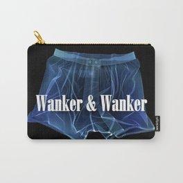 Wanker & Wanker Half Logo Carry-All Pouch