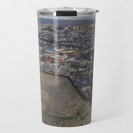 Perranporth Beach Travel Mug