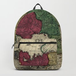 Map of Russia (1704) Backpack
