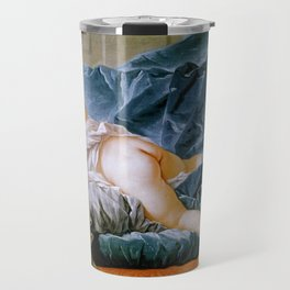 "François Boucher ""Brown Odalisque (L'Odalisque Brune)"" (1745) Travel Mug"