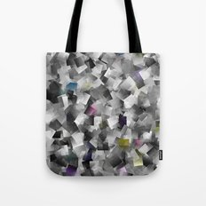 abstract metal pattern Tote Bag