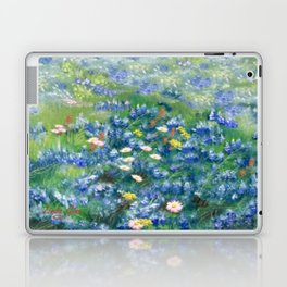 Spring Flowers in Texas Laptop & iPad Skin
