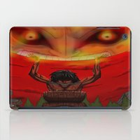 majora iPad Cases featuring attack on majora! by fangterry