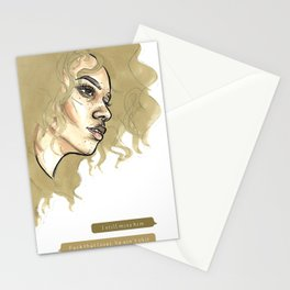pep talk Stationery Cards