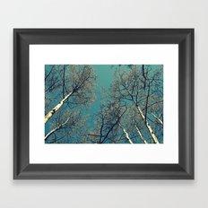 Treescape  Framed Art Print