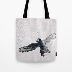Soar the puffin Tote Bag