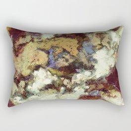 The old horse Rectangular Pillow