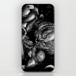 First base in Outer Space iPhone Skin