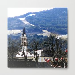 From the Pearl of the Dolomites Metal Print