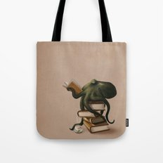 Well-Read Octopus Tote Bag
