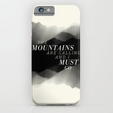 Mountains - BW iPhone 6s Slim Case