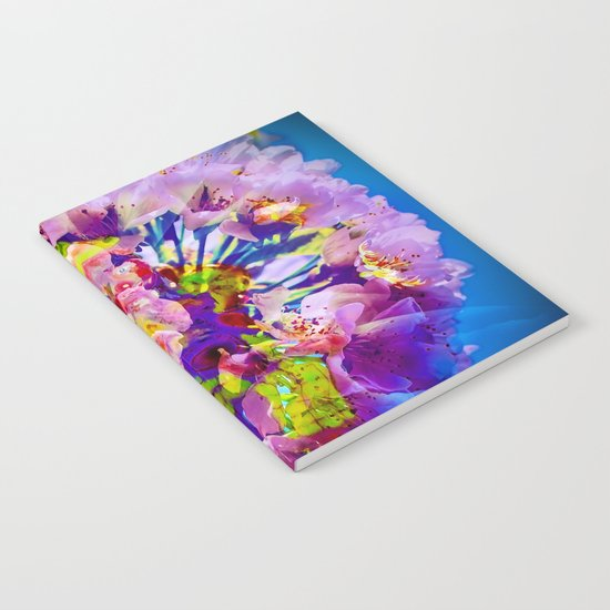 flowers magic Notebook