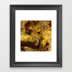 Dehiscence 3 Framed Art Print