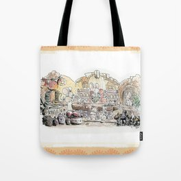 Thumbelina's house! Tote Bag
