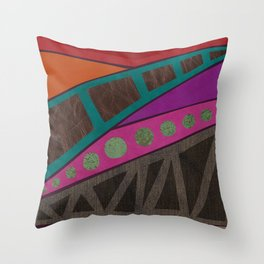 remember to be alive Throw Pillow