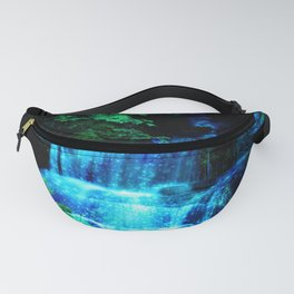 Enchanted waterfall. Fanny Pack